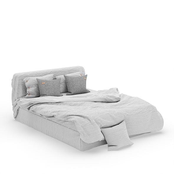 Linen Bedding Set v1 - 3DOcean Item for Sale