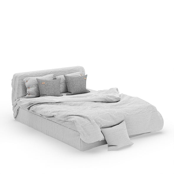 Linen Bedding Set v1