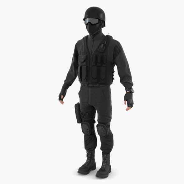 SWAT Policeman