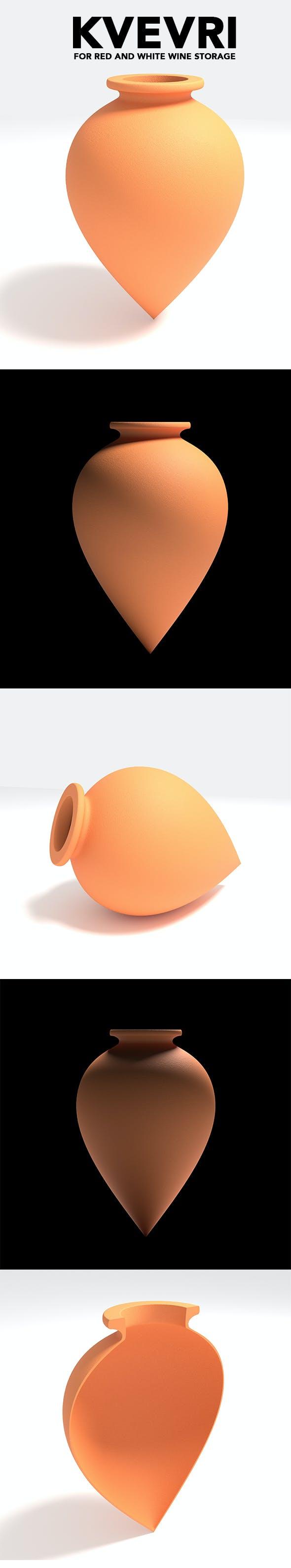 Kvevri - 3DOcean Item for Sale