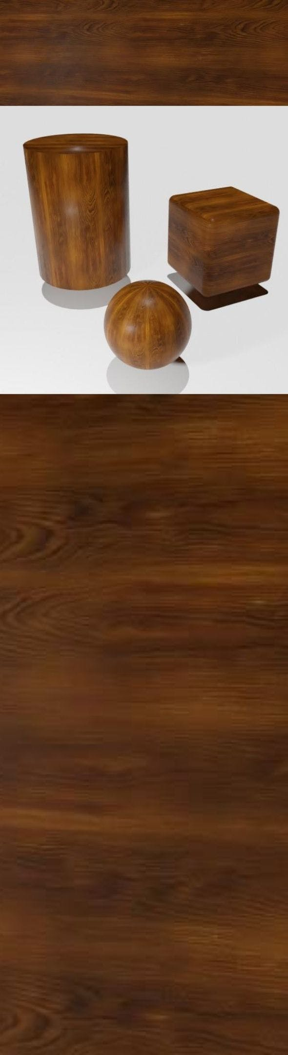 Smooth brown wood veneer - 3DOcean Item for Sale
