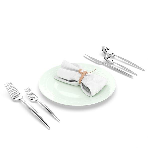 Silverware and Diningware set