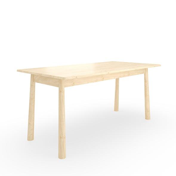 Bergen Oak Dining Table