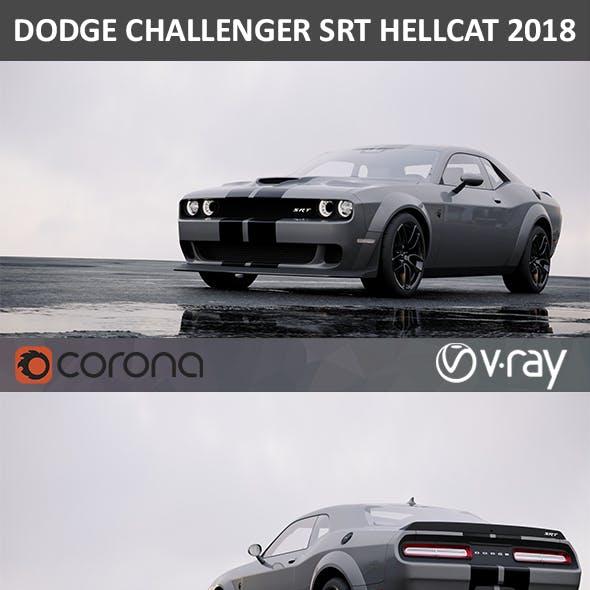 Dodge Challenger SRT Hellcat HD interior 2018