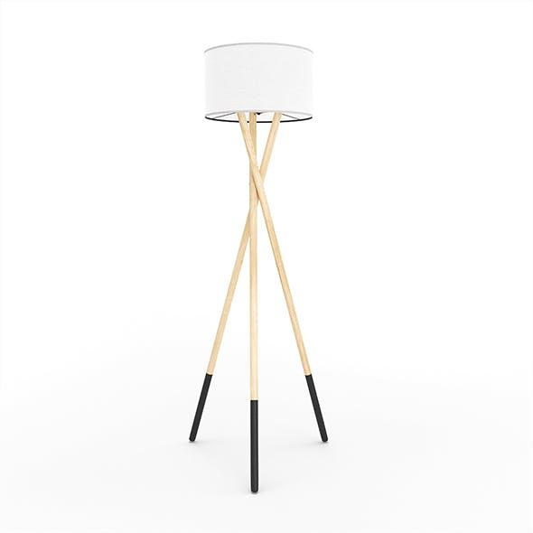 Harper - Tripod Floor Lamp - 3DOcean Item for Sale