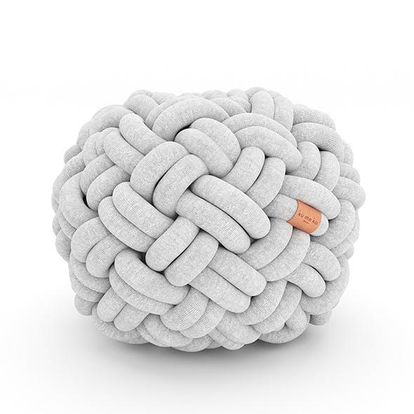 Knotty Flour Cushion - 3DOcean Item for Sale