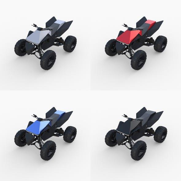 Tesla Cyberquad ATV Collection