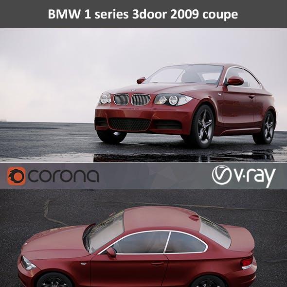 BMW 1-Series 3-door Coupe 2009