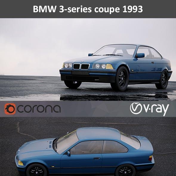 BMW 3-Series E36 1993 HD interior