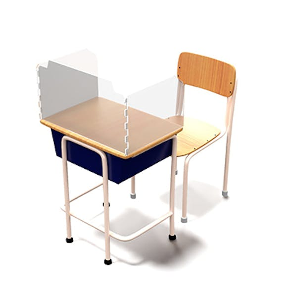 Student chair with protection