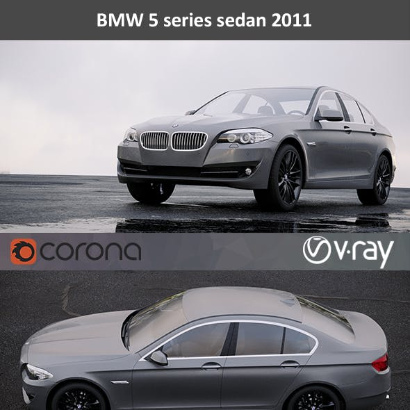 BMW 5-Series Sedan 2011