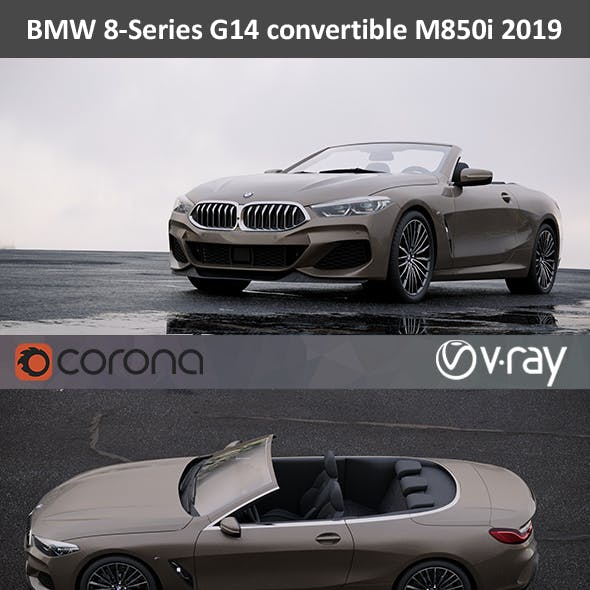 BMW 8-Series M850i Convertible 2019
