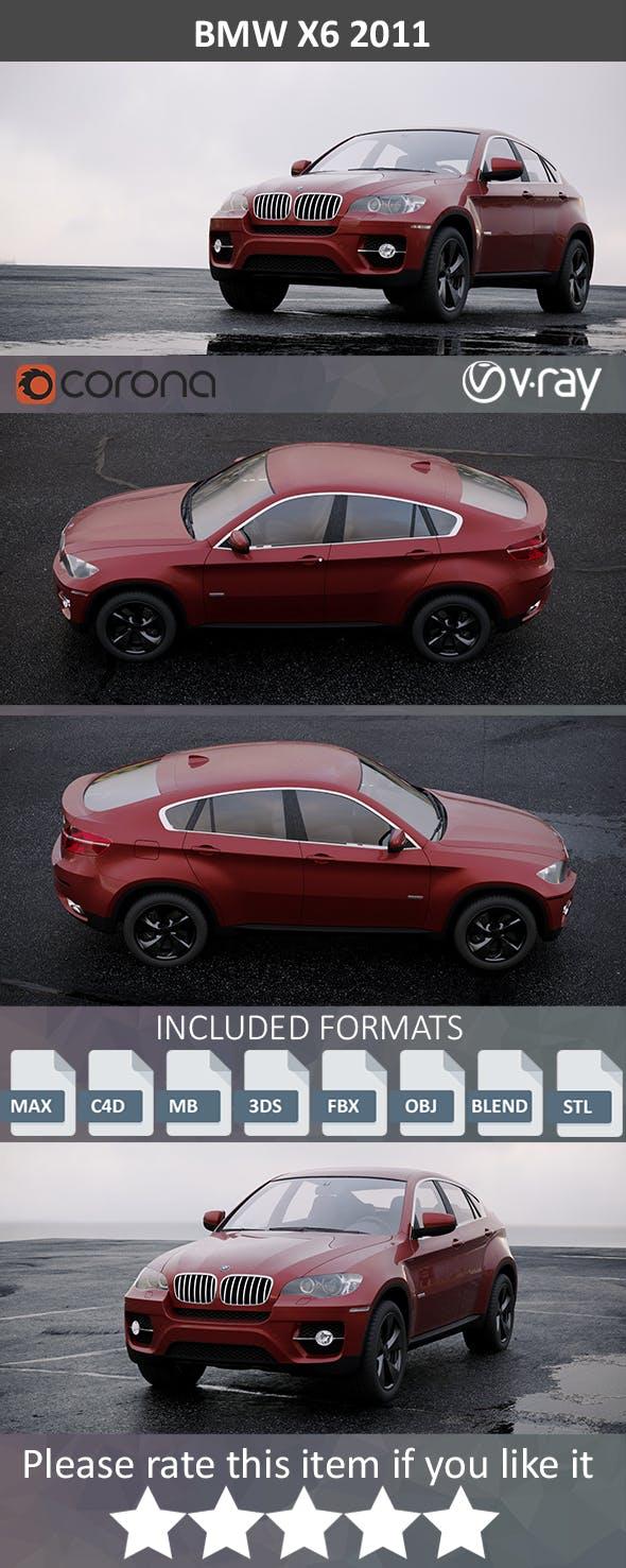 BMW X6 2011 - 3DOcean Item for Sale
