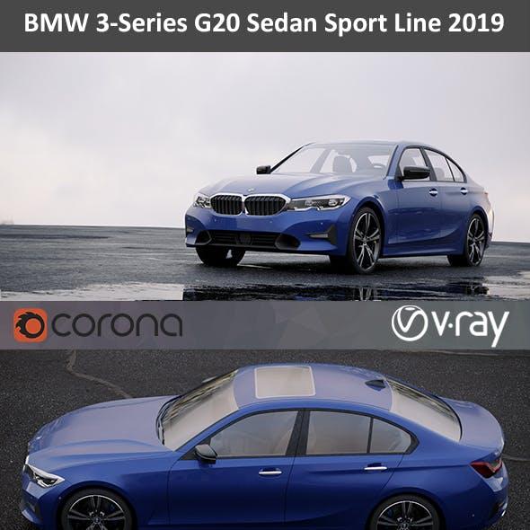 BMW 3-Series Sport Line 2019