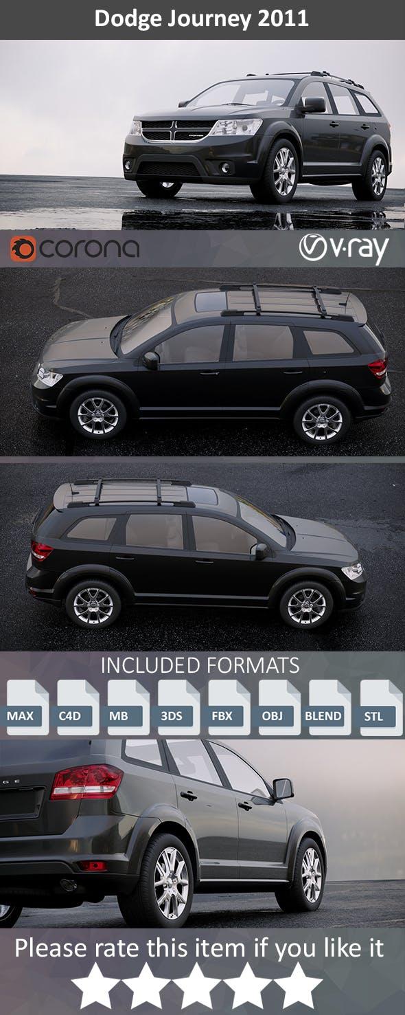 Dodge Journey 2011 - 3DOcean Item for Sale