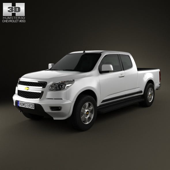 Chevrolet Colorado S-10 Extended Cab 2013 - 3DOcean Item for Sale