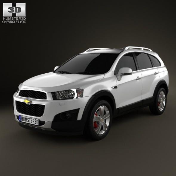 Chevrolet Captiva 2012 - 3DOcean Item for Sale