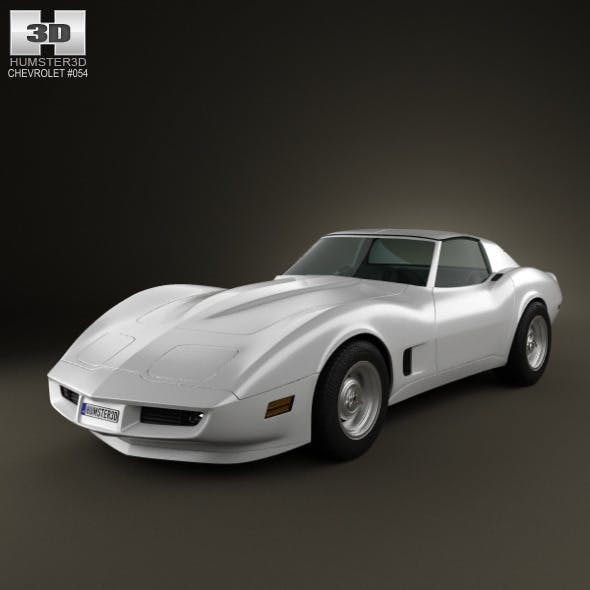 Chevrolet Corvette Stingray (C3) Coupe 1973