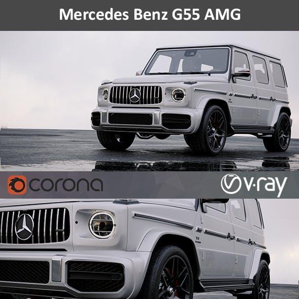 Mercedes Benz G55 AMG HD interior