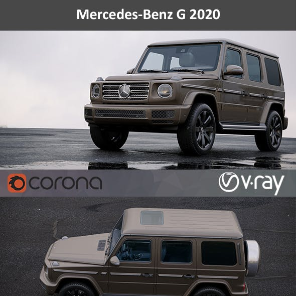 Mercedes-Benz G 2020 HD interior