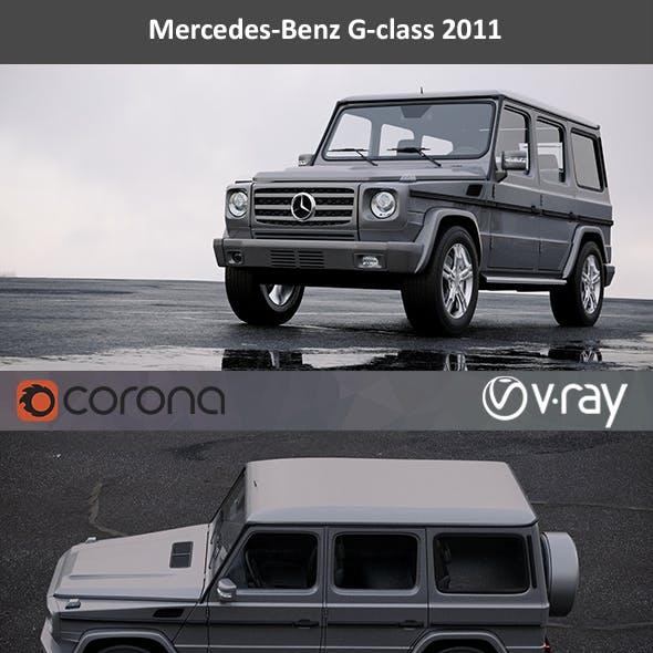 Mercedes-Benz G-class 2011