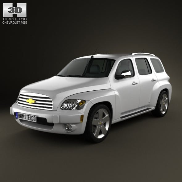 Chevrolet HHR wagon 2011 - 3DOcean Item for Sale