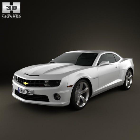 Chevrolet Camaro 2SS RS coupe 2011 - 3DOcean Item for Sale