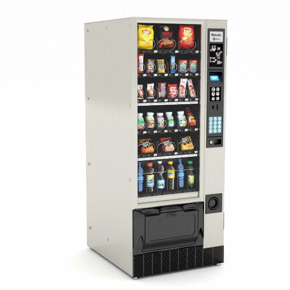 Vending Machine - 3DOcean Item for Sale