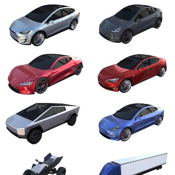 Full Tesla 2020 Vehicle Lineup