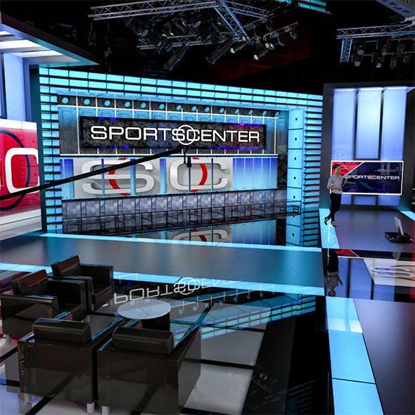 ESPN sportcenter studio