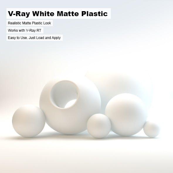 V-Ray White Matte Plastic
