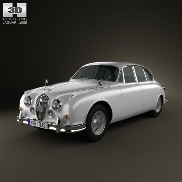 Jaguar Mark 2 1959-1967 - 3DOcean Item for Sale