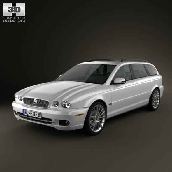 Jaguar X-Type estate 2009 - 3DOcean Item for Sale
