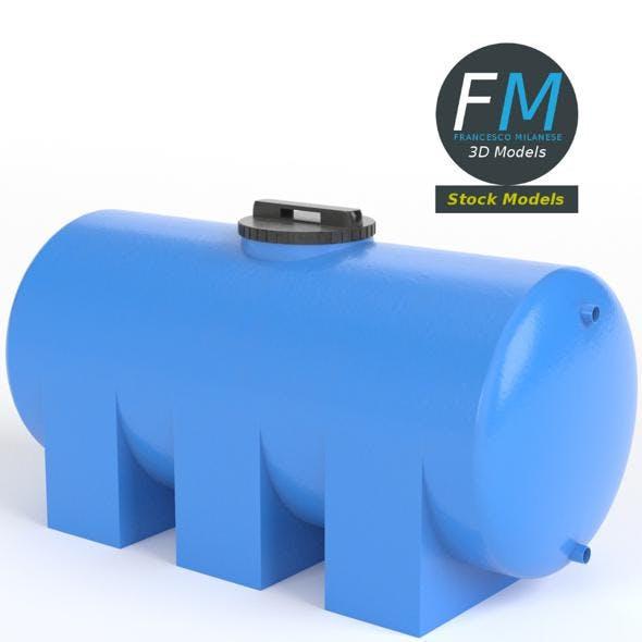 Plastic water storage tank - 3DOcean Item for Sale