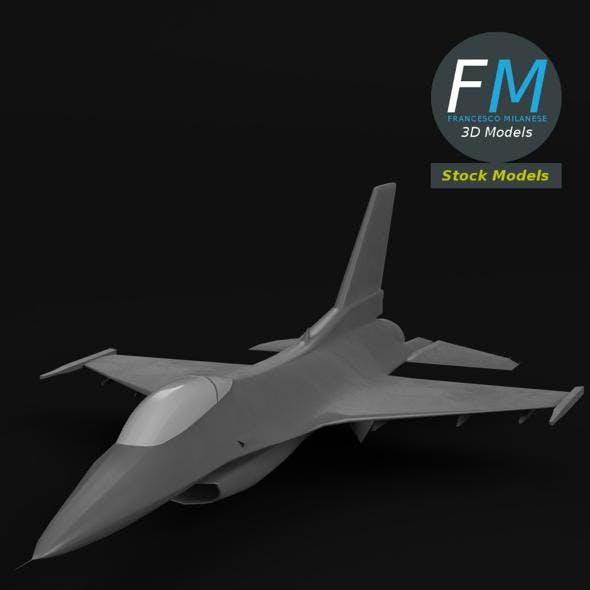F-16 Fighting Falcon base mesh - 3DOcean Item for Sale