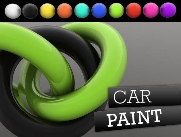 Car Paint - 3DOcean Item for Sale