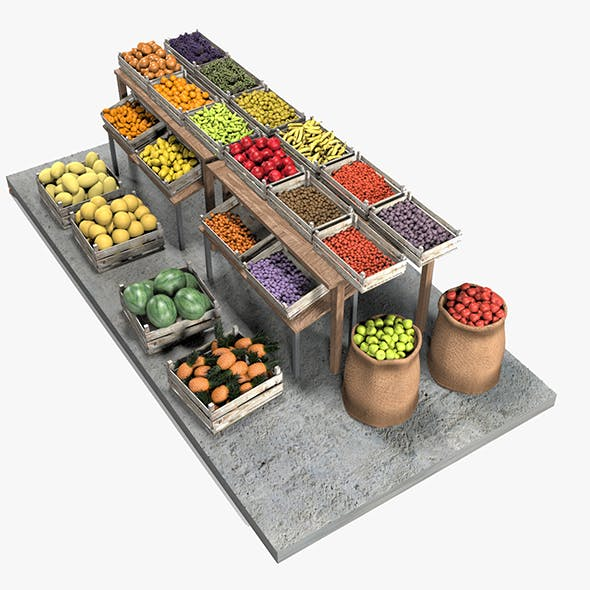 Fruit Stand Market