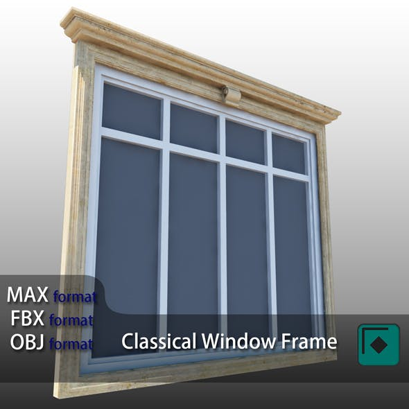 Classical Window Frame