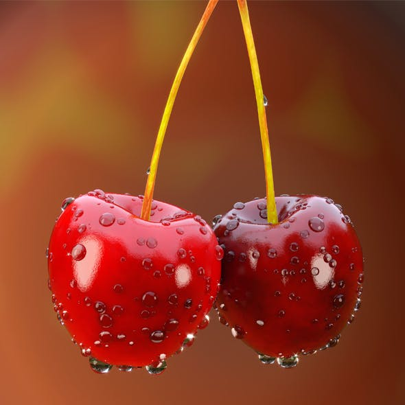 Juicy cherry - 3DOcean Item for Sale