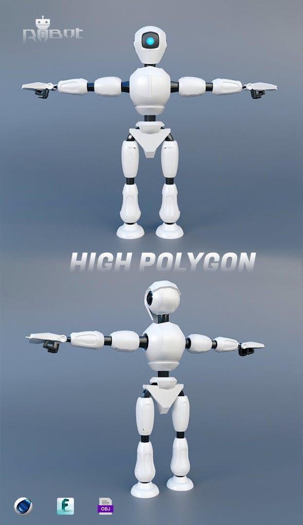 Robotic Droid - 3DOcean Item for Sale