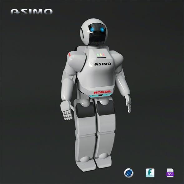 Asimo Robot - 3DOcean Item for Sale