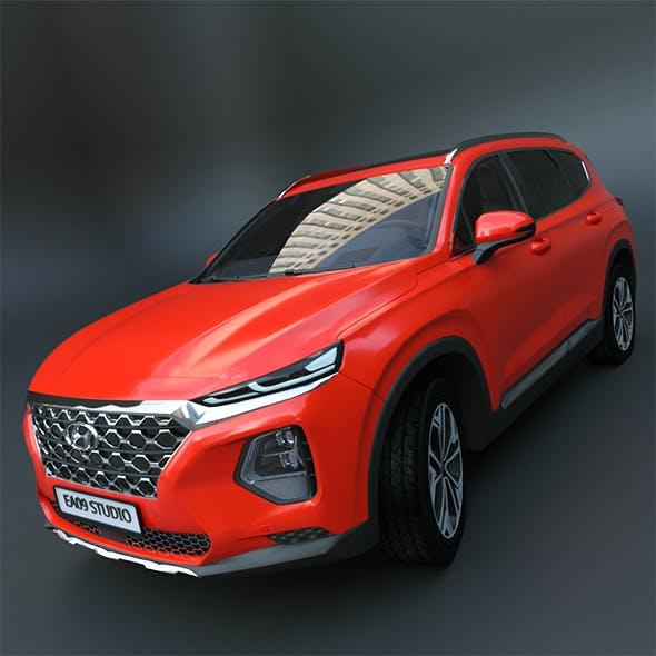 Hyundai Santa Fe 2020 - 3DOcean Item for Sale