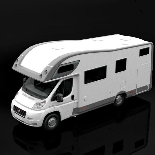 Fiat Ducato Camper Van - 3DOcean Item for Sale