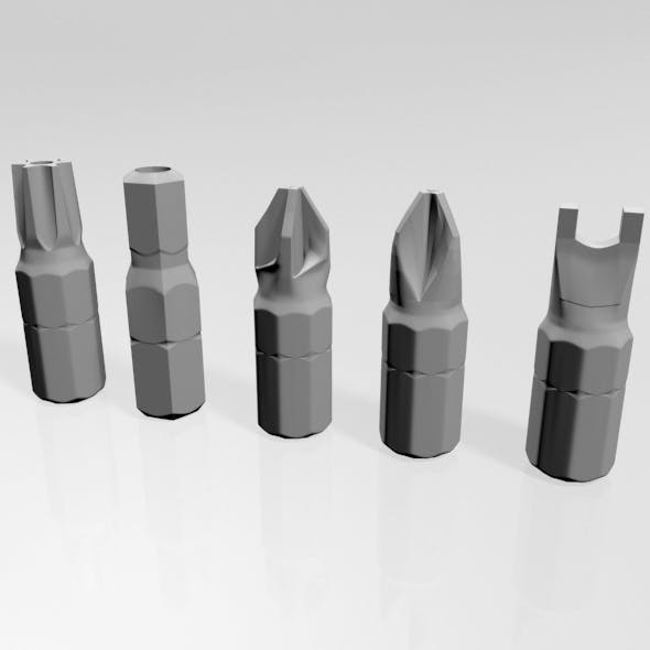 Screwdriver Screw Heads 01