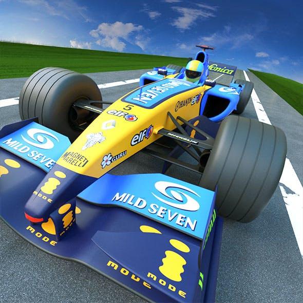 Formula 1 Renault24 - 3DOcean Item for Sale