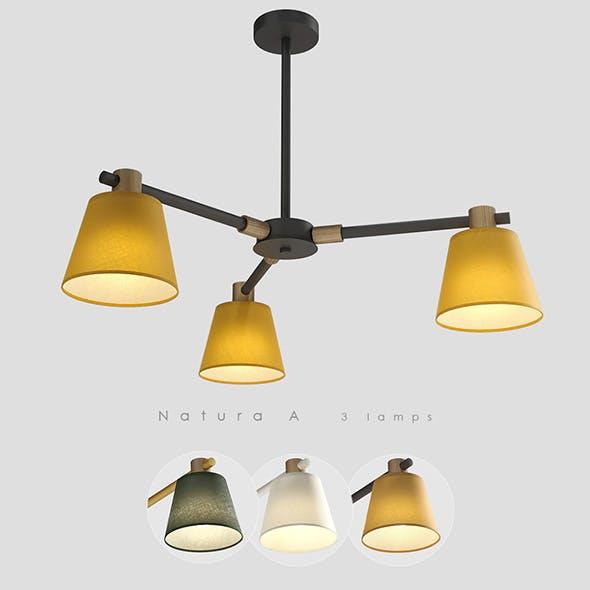 Lampatron Natura A 3 lamps