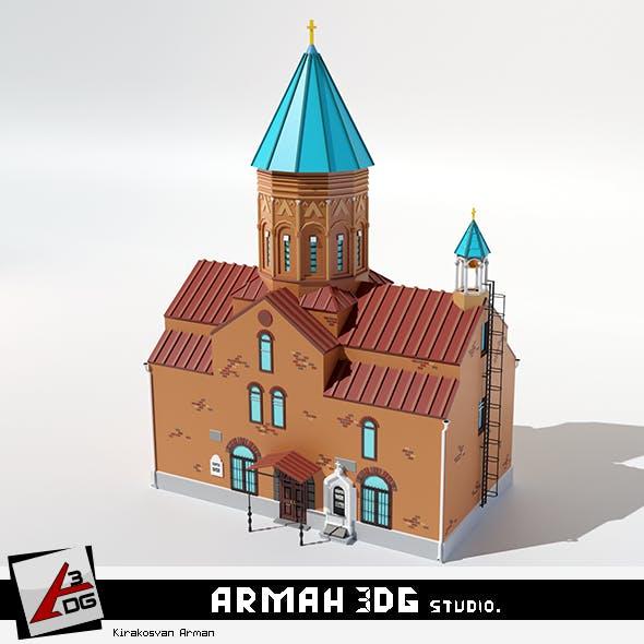 Church Surb Gevorg - 3DOcean Item for Sale