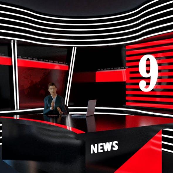 News Studios Light