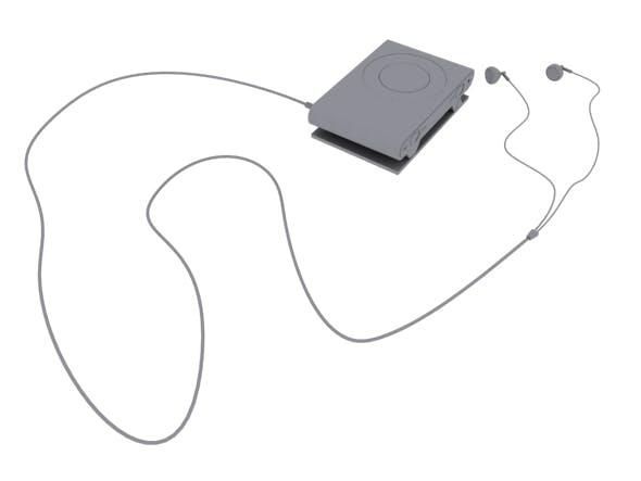 Apple Ipod Shuffle 3D Model - 3DOcean Item for Sale