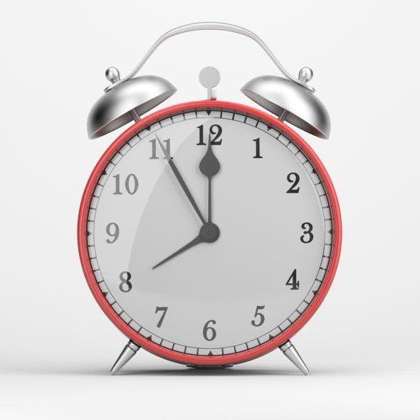 Classical Alarm Clock 3D model